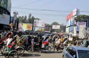 verkeer in Chittagong